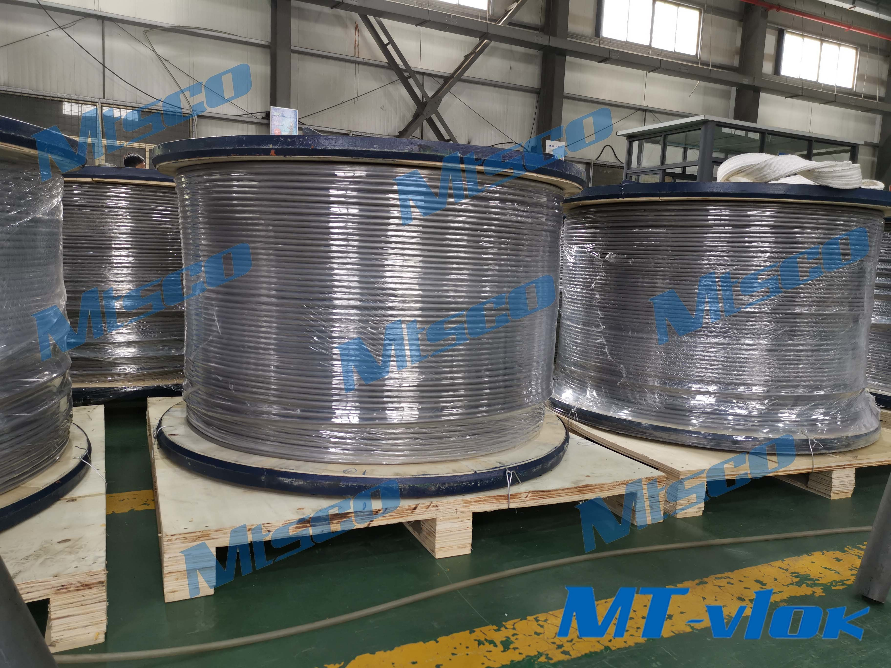 Latest company case about We successfully made it! Alloy 825 welded coiled tubing!