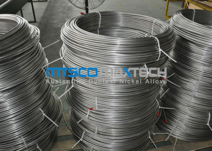 S30400 / 1.4301 Stainless Steel Coiled Tubing , Chemical Injection Tubing In Coil With No Joints