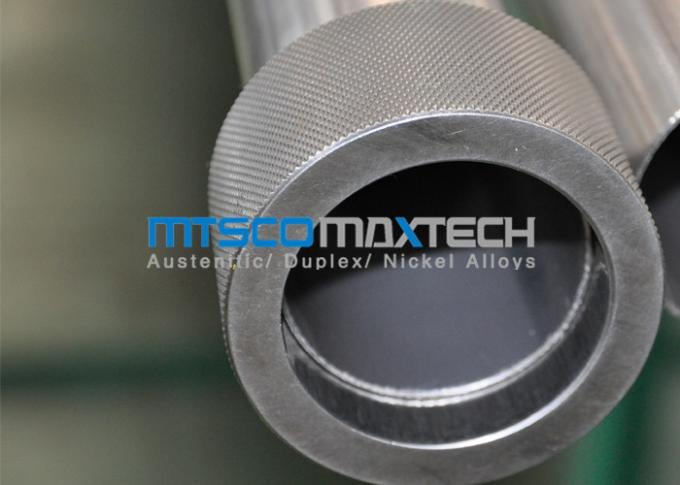 ASME SA249 Stainless Steel Welded Tube 16 SWG Wall Thickness
