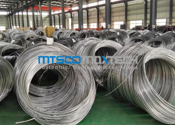 Customized Pressure Testing Stainless Steel Coiled Tubing For Clients