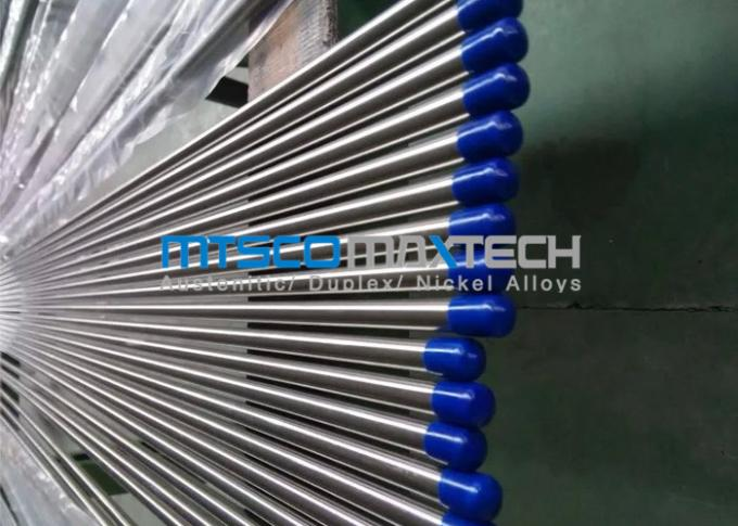 100 % PMI Testing Customized Bright Annealed Tubes Fixed Length 6000mm