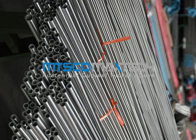 1.4550 Stainless Steel Seamless Tube Bright Annealed Surface / Pickling Surface