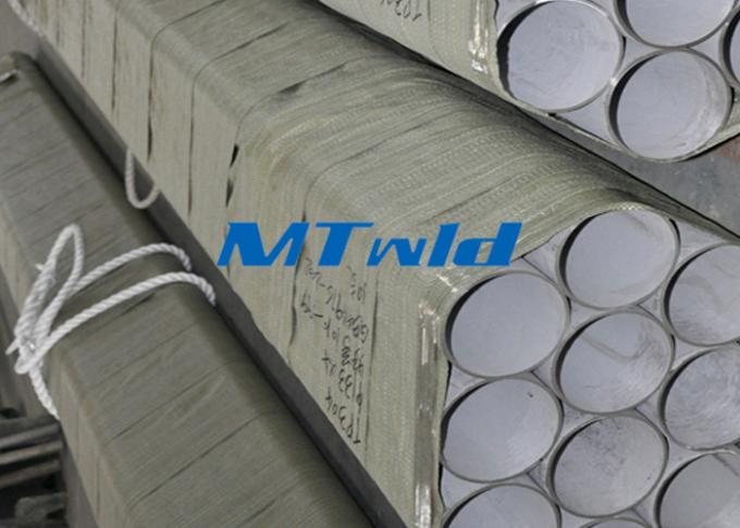 ERW ASTM Standard Stainless Steel Welded Pipe For Fluid / Gas Transportation