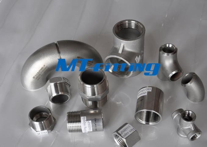 DN150 Sch40 ANSI B16.5 WP347 / 347H Stainless Steel Equal Tee Pipe Fitting Tee