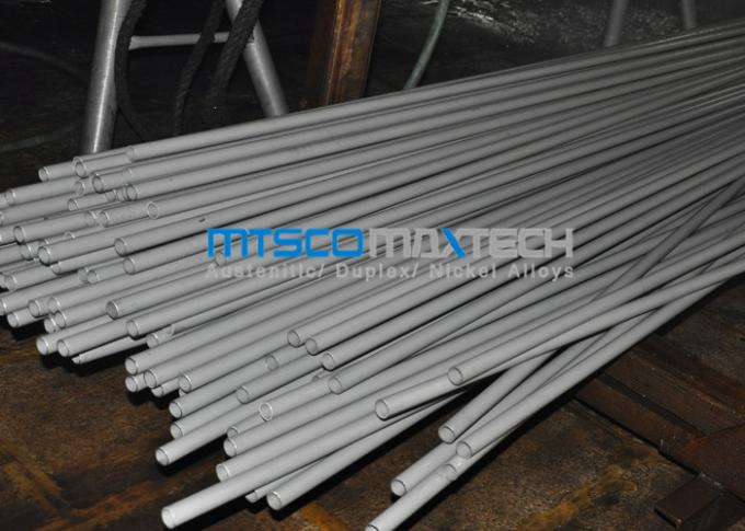 ASTM A269 / ASTM A213 SS Straight Heat Exchanger Tube For Fuild And Gas