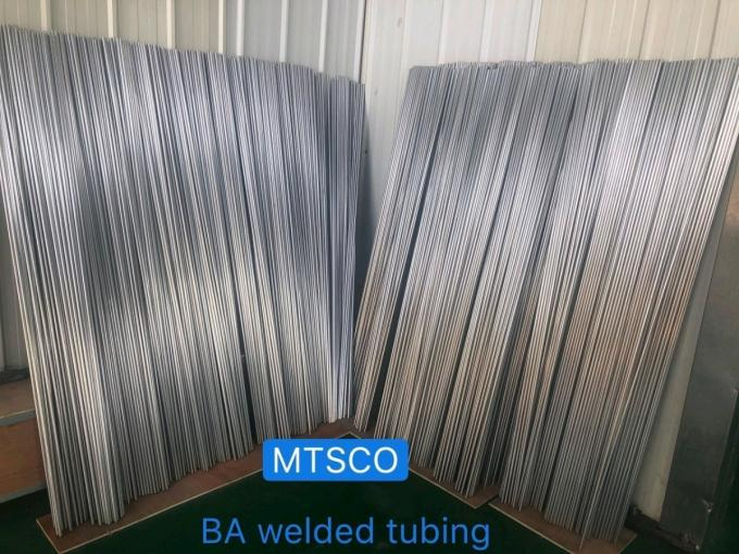 TP304L / 316L Bright Annealed Tube Stainless Steel BA Welded Tubing For Instrumentation
