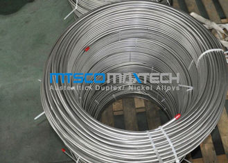 China ASTM A269 TP316L Stainless Steel Coiled Tube For Instrument supplier