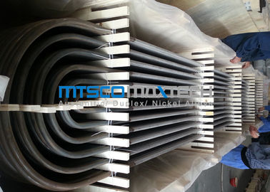 China S30403 TP304L / 1.4306 Heat Exchanger Tube  With U Bend 25.4mm Diameter supplier