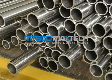 China TP347 And DIN1.4550 Sanitary Tubing Dual Standard , Polished Stainless Steel Tube factory
