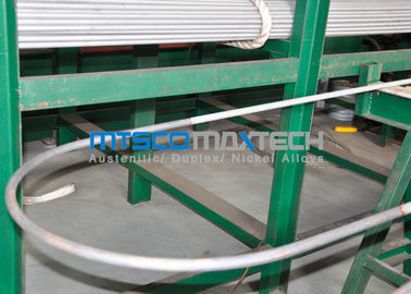 China Stainless Steel Heat Exchanger Tube TP304 / 304L , U Bend Cold Drawn Tube supplier