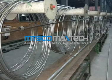 China TP304 9.53 x 0.71 x 172000 mm Coiled Stainless Tubing Mesh Belt Furnace Annealing supplier