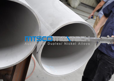 ASTM A358 / ASME SA358 Stainless Steel Double Weled Pipe TP321 / 321H Annealed & Pickled