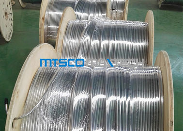China 9.53 * 0.89 Stainless Steel Coiled Tubing 300 Series ASTM A269 / A213 supplier