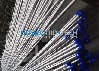China Annealing Super Duplex Steel 2507 tubing Seamless For Heat Exchanger factory