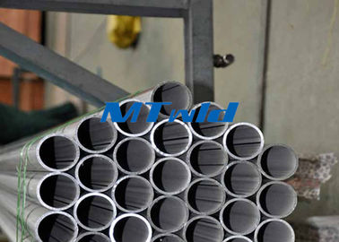China Welded ERW Stainless Steel Tubing ASTM A789 / SA789 Welding Round Tube 300 Series supplier