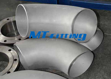 China WP316 / 316L Flanges Pipe Fittings Elbows 180 Degree Stainless Steel Pickling supplier