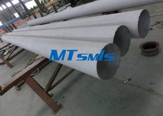 China DN 60 80 100 Stainless Steel Annealed & Pickled Seamless Pipe For Gas Transportation supplier