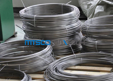 9.53 * 20 BWG Stainless Steel Coiled Tubing For Oil Transparent 1.4404 / 1.4301