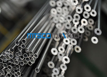 Size 1 / 4 Inch Stainless Steel Seamless Tube ASTM A213 With Hydraulic Test
