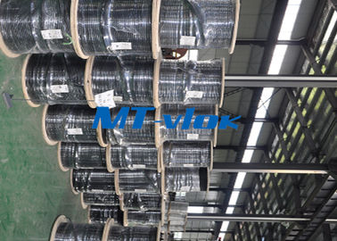 China Welded Super Long Multi core Stainless Steel Coiled Tubing For Marine factory