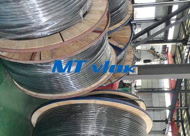 China 1 / 2 Inch Sch10s Stainless Steel Coiled Tubing Bright Annealed / Pickled Surface supplier