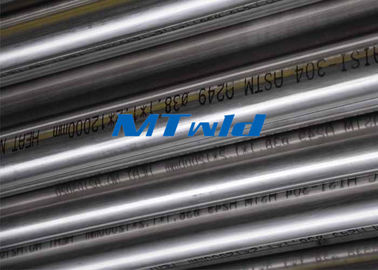 Annealed Stainless Steel Welded Sanitary Tube For Water Industry ASTM A270