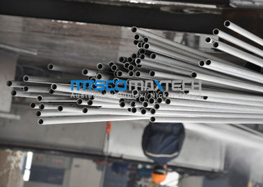 China ASTM A789 SAF2205 / 2507 Duplex Steel Tube With Bright Annealed Surface factory