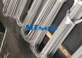 China S30403 / S31603 1 / 4 Inch Heat Exchanger Tube , Stainless Steel U Bend Welded Tube factory