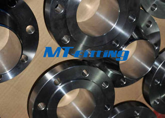 China 1500LB F51 / F53 2205 / 2507 Flanges Pipe Fittings , Duplex Steel Socket Welding Flange supplier
