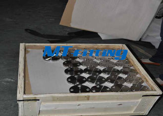 ASTM A182 Class900 Flanges Pipe Fittings , Stainless Steel Blind Flange FF For Connection