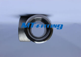 Forged High Pressure Pipe Fittings , F11 / F22 Stainless Steel Socket Welded Tee