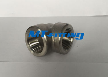 F316 / 316L 3000LBS S32750 Duplex Steel 90 Degree Eblow Forged Fittings