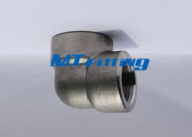 Threaded F91 ASTM A105 Stainless Steel Forged High Pressure Pipe Fittings ASME 16.11