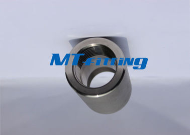 F304H ASTM A105 6000LBS Coupling Forged Pipe Fittings Stainless Steel Threaded End
