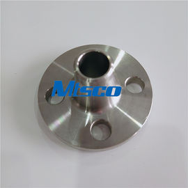 China 300LB S31803 / S32750 / S32760 Duplex Steel Weld Neck Flange For Connection factory