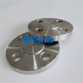 China Class150-2500 ASTM A815 S31803 / 2205 / F51 Stainless Steel Flange / Duplex Steel Blind Flange factory