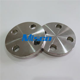China ASTM A182 F51 / F53 Flanges Pipe Fittings , Duplex Steel Blind Flange For Hydraulic Tube factory