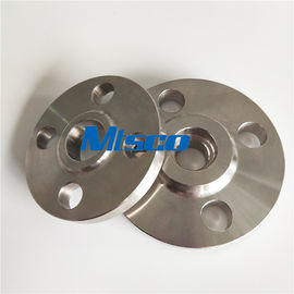China ASME / ANSI B16.5 SAF2205 / 2507 Flanges Pipe Fittings , Duplex Steel Slip On Flange factory