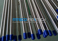 ASTM A269 TP304 Seamless Bright Annealed Tube Line , Cold Drawn Hydraulic Tubing