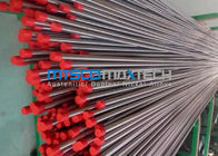 TP304 , TP316 Stainless Steel Hydraulic Tubing , Mesh Belt Furnace Annealing