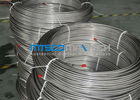 S30400 / 1.4301 Stainless Steel Coiled Tubing , Chemical Injection Tubing In Coil With No Joints supplier