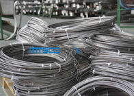 China Cold Rolled TP 347 / 347H 9.53mm Coiled Stainless Tube Seamless Stainless Steel Pipe factory