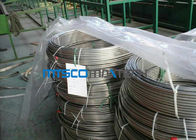 China ASTM A213 Stainless Steel Coiled Tubing 1.4404 / 1.4306 / 1.4407 For Gas Industry factory