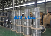 TP 304 / 304L 1.4301 / 1.4306 Welded Stainless Steel Coil Pipe Single - Core Coiled supplier