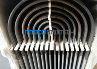 Stainless Steel Heat Exchanger Tubing TP316 / 316L , U Bend Size 25.4mm For Fuild