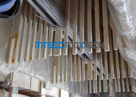 TP321 / 321H U Bend Welded round metal tube For Boiler , ASTM A269
