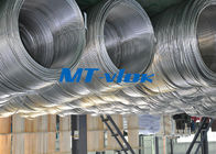 TP316 / 316L Stainless Steel Welded Super Long Coiled Tube For Petrochemical Industry supplier