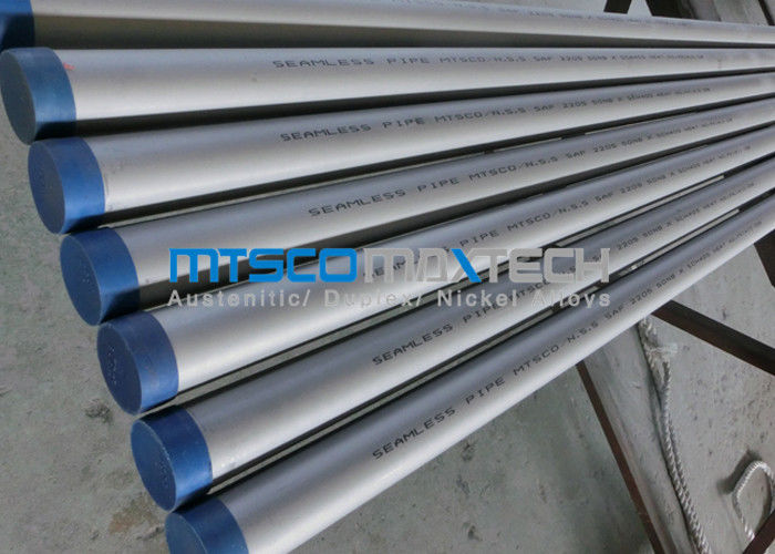 Material duplex steel tube hydraulic test with