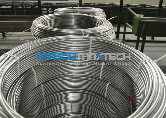 China Chemical Injection Seamless ASTM A269 Stainless Steel Tubing Line / Seamless Coiled Tubing factory