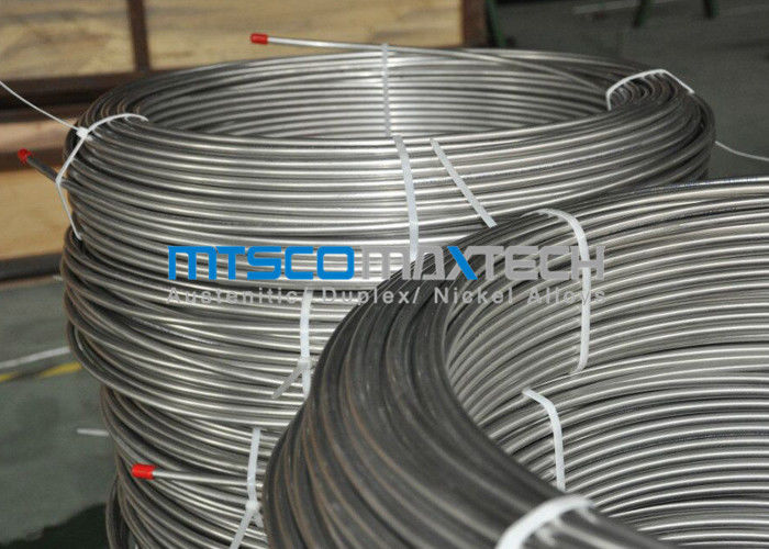 ASTM A269 Seamless Stainless Steel Coiled Tubing For Pre-insulated Tube supplier